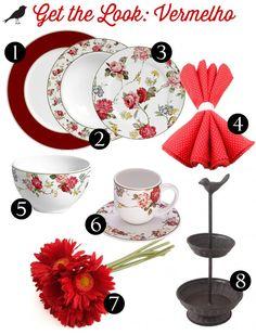 mesa posta com get the look, mesa verde, produtos mesa posta, mesa vermelha, mesa azul