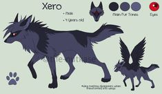 Xero Reference Sheet by The-Nutkase on DeviantArt