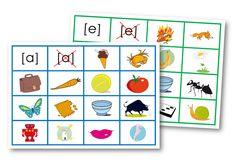 Cartes à manipuler : J'entends, je n'entends pas – Le blog de Chat noir Letter Games, Home Schooling, Page 3, Literacy, Kids Rugs, Activities, Education, Adeline, Math