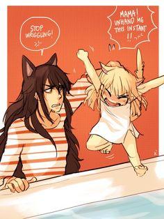Blake and Baby