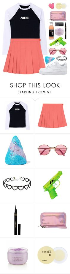 """""""Desperate hearts"""" by crazydirectionergirl ❤ liked on Polyvore featuring Sugar Milk Co, H&M, Napoleon Perdis, Cheap Monday, Victoria's Secret, NARS Cosmetics, Korres and Valley Cruise Press"""