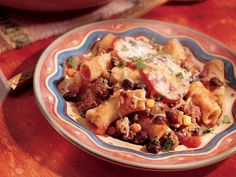 mexican pasta bake mexican pasta bake 1 2 pound lean ground beef 2 1 2 ...