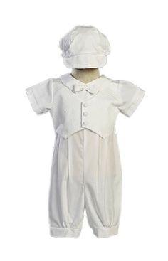 Baby Boys Infant Poly Cotton Christening Pique Vest Rompe... https://www.amazon.com/dp/B00D97F3D0/ref=cm_sw_r_pi_dp_x_WLcrybA3TCJR1