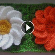 Crochet Leaf Patterns, Newborn Crochet Patterns, Crochet Leaves, Crochet Motif, Crochet Flowers, Saree Tassels Designs, Tatting Tutorial, Crochet Flower Tutorial, Hand Embroidery Tutorial
