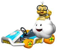 Lakitu (Mario Kart 8) (Fly)