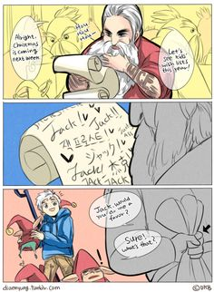Rise of The Guardians - Our Wish-lists by Breetroad.deviantart.com on @deviantART----- Ohmygoodness yes! :D