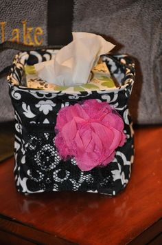 Looking for something to hide those ugly tissue boxes....square tissue boxes fit prefectly in the Little Carry All Caddy! And another bonus...I little bottle of hand sanitizer fits in the mesh pocket on the front!  www.mythirtyone.com/31withstacy/