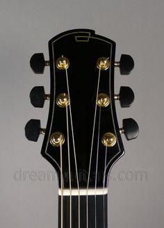 2007 EVD (Edward Victor Dick) Healdsburg 00 cutaway Acoustic headstock