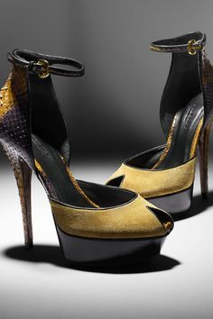 229e1a4ff6a Burberry Autumn Winter 2012 sandals a Heidi Shoe.