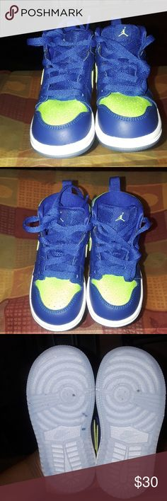 6fa07836980e34 Toddler boys shoes air jordan Only worn twice