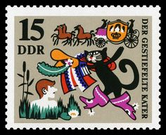 Part of a 1968 German set based on Puss in Boots.