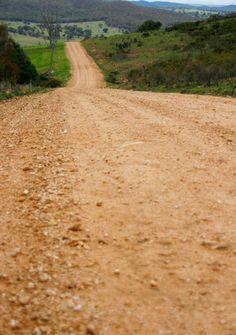 dirt road, Bathurst, NSW Australia