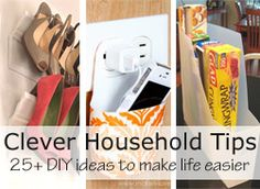 clever DIY household tips