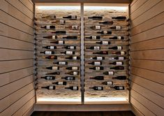 35 Small Wine Cellars and Wine Room Ideas You Can Recreate A spot in your home can be a stunning wine room or wine cellar. These wine room ideas turn a small closet or corner into one of the best wine cellars ever. Wine Rack Design, Cellar Design, Home Wine Cellars, Small Closets, Wine Wall, Wine Collection, Wine Fridge, Italian Wine, Stone Veneer