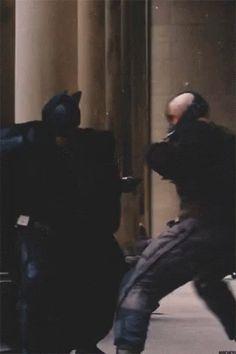 Bane x Batman x The Dark Knight Rises Bane Batman, Batman Gif, Im Batman, Batman Christian Bale, Bane Dark Knight, The Dark Knight Trilogy, The Dark Knight Rises, Tom Hardy Bane, Dc Comics