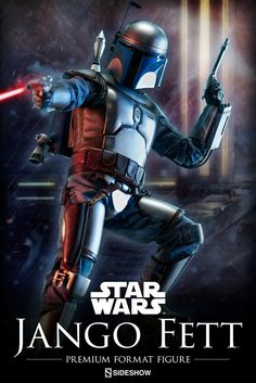 Jango FETT | Poster | Kamino | STAR WARS | Episode II : Attack of The Clones (2002) | Sideshow Collectibles Figures