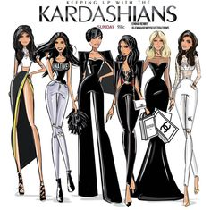 #KUWTK Tonight 9|8c by @emmakennyillustrations| Be Inspirational ❥|Mz. Manerz: Being well dressed is a beautiful form of confidence, happiness & politeness