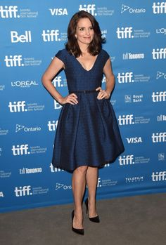 Tina Fey in Temperley London. I would like this dress. Oh, and also her career.