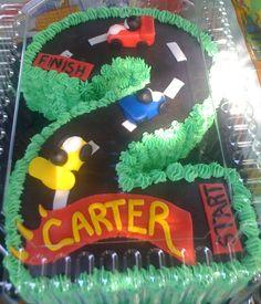 CAR CAKE. Neat starting idea