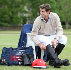 If you play the game, you also have to master the style. La Martina Ambassador Malcolm Borwick has both covered! #WeArePolo