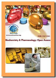 Biochemistry & Pharmacology: Open Access is an international, peer-reviewed journal elaborating the application of dosages, disease progresses and curative measures in medical and pharmacology in solving the annoying problems.