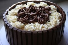 Kitkat cake By Danglad on CakeCentral.com