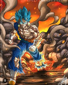 Dragon Ball Z, Dragon Z, Anime Echii, Anime Nerd, Black Lagoon Anime, Gogeta And Vegito, Ball Drawing, Pikachu, Drawings