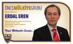 Başkan Adayımız Erdal Eren