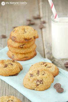 Paleo Chocolate Chip Cookies #MyNaturalFamily