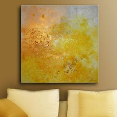 30x30 Large ORIGINAL ABSTRACT painting with by studiomosaic