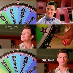 "#Glee 6x08 ""A Wedding"" - Kurt, Blaine, Santana and Brittany"