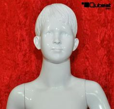 #weiß #white #glänzend #shiny #Schaufensterpuppe #Mannequin #Kind #Kinder #Junge #männlich