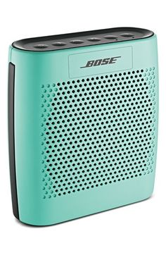 Bose bluetooth speaker in mint http://rstyle.me/n/v2ysrnyg6