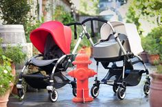 Bugaboo reveals the new look Bugaboo Bee3 stroller now with a bassinet and new colours!