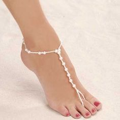 Ankle Jewelry | The sensual touch look of the foot jewelry | Wedding Planning Advice
