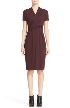 Max Mara 'Liuto' Faux Wrap Jersey Dress