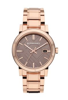 Burberry+Rose Gold=My Dream