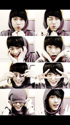 Minhyuk in an episode of the very popular show Cuteness Overload Btob Lee Minhyuk, Sungjae, Rap, Bias Kpop, Popular Shows, Cube Entertainment, Vixx, Pop Group, Beautiful Men