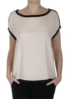 Camicia in seta elasticizzata #Jucca Colore cipria #moda #fashion