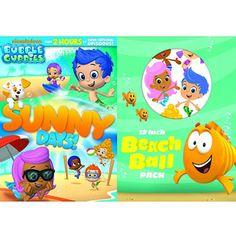 Bubble Guppies: Sunny Days! (DVD + Beach Ball) (Walmart Exclusive) (Full Frame)