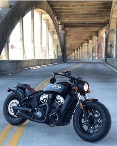 """""""Scout bobber with exhaust 📸—> Bobber Motorcycle, Moto Bike, Motorcycle Style, Motorcycle Design, Motorcycle Outfit, Motorcycle Quotes, Motorcycle Garage, Motos Yamaha, Honda Motorcycles"""