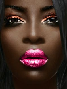 This is close to my completion but until recently I've never seen women like me sport these loud colors. I kind of want to try but I desire modesty most of the time when it comes to make-up. I mean I don't go to the club what Ima do wear this to church Library, grocery store, Walmart? Well maybe Walmart:)