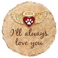I'll Always Love You Memorial Garden Stone - Garden Stones - Garden & Patio