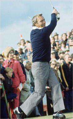 Arnold Palmer is the first to win the Masters Tournament (Augusta, Ga.) 1958, and the first to earn one million dollars in tournament prize.