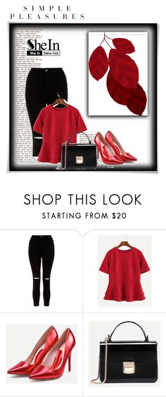 """Shein 3"" by amelaa-16 ❤ liked on Polyvore featuring New Look, WithChic and shein"