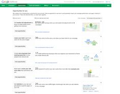 Google Updates AdWords Opportunities Tab With New Opportunity Types
