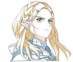 Legend Of Zelda Memes, Legend Of Zelda Breath, Game Character, Character Design, Graffiti Alphabet Styles, Zelda Anime, Zelda Video Games, Princesa Zelda, Botw Zelda