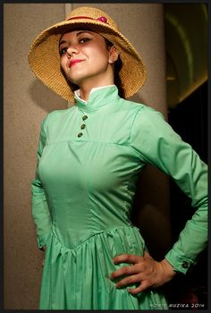 2014 San Diego Comic-Con Cosplay - Sophie, from Howl's Moving Castle