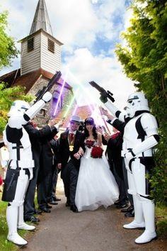 star wars wedding idea:)
