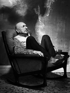Sir Ben Kingsley by Bryan Adams for Zoo Magazine, January 2010!